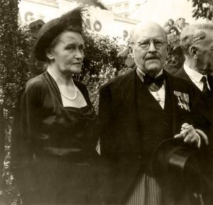 Der britische Konsul Robert T. Smallbones und seine Ehefrau Inga. © Jüdisches Museum Frankfurt am Main