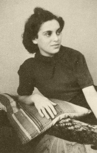 Esther Ebe 1937 in Frankfurt/Main © Kößler/Rieber/Gürsching