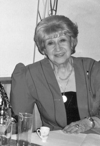 Erna Barth, gesch. Höhmann, geb. Hesekiel (Aufnahme 70er Jahre) © Sammlung Petra Bonavita