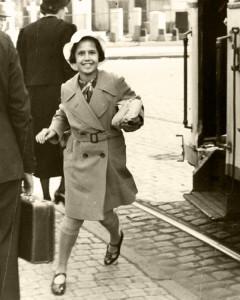 Lore Gotthelf fährt am 7. Juli 1939 nach England. © Collection 2002.296, Photo Nr. 30917, US Holocaust Memorial Museum Washington