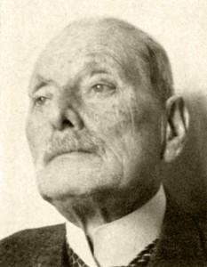 Prof. Dr. Karl Herxheimer (Aufnahme 1941) © Deutsche Nationalbibliothek Frankfurt am Main