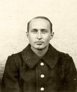 Kurt Glass in französischer Uniform in einer Einheit für Emigranten (Aufnahme Ende 1939) © Dr. Michel Glass