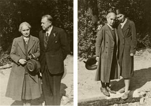 Erinnerungsfotos kurz vor der Flucht mit Ehemann Hugo und Tochter Renate (Aufnahme Mai 1944) © Erica Ludolph